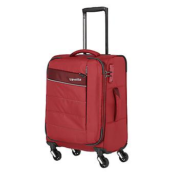 rejsetaske håndbagage Trolley S, 4 hjul, 54 cm, 36 L, rød