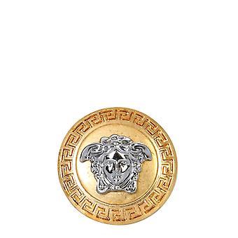Versace Dg58203djmtkote Men's Gold Metal Ring