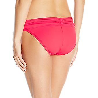 La Blanca Women's Island Goddess Shirred Band Hipster Bikini Swimsuit Bottom,...