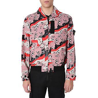 Stone Island 7215445e3v0097 Men's Multicolor Cotton Outerwear Jacket