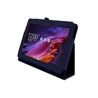 PU Leather Case Cover voor Asus Transformer Pad TF303 TF303CL[Blauw]
