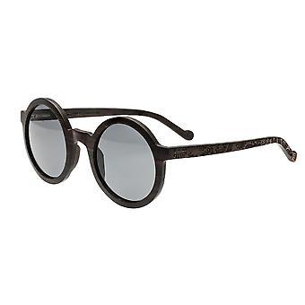 Earth Wood Canary Polarized Sunglasses - Ebony/Black