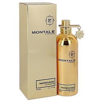 Montale Highness Rose Eau De Parfum Spray By Montale 3.4 oz Eau De Parfum Spray