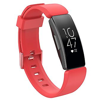 Replacement Wristband Strap Bracelet Band for Fitbit Inspire/Inspire HR/ACE 2[Red,Small]