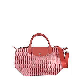 Longchamp 1512313p13 Women's Pink Polyester Shoulder Bag
