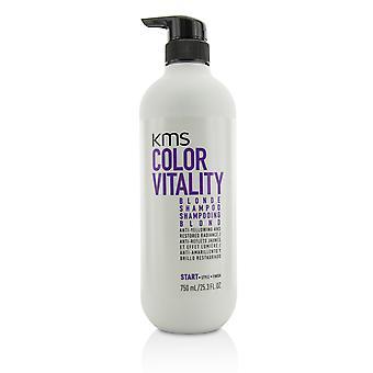 Kleur vitaliteit blonde shampoo (anti vergeling en gerestaureerde uitstraling) 212186 750ml/25.3oz