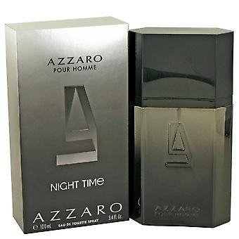 Azzaro nuit temps vaporisateur Eau De Toilette par Azzaro 3.4 oz Eau De Toilette vaporisateur