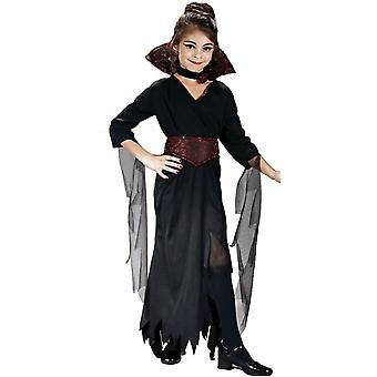 Vackra Vampiress barn kostym