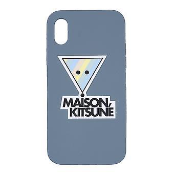 Maison Kitsuné Eu05612ap0002 Men's Blue Pvc Cover