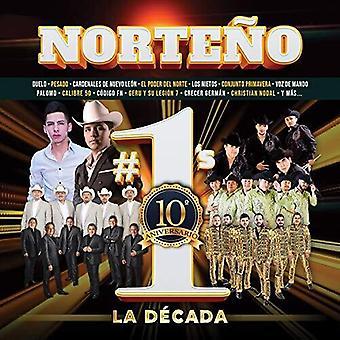 Norteno #1's La Decada [CD] USA import