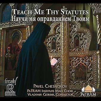 Chesnokov - Teach Me Thy Statutes [SACD] USA import