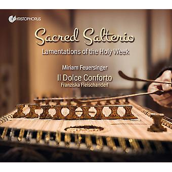 Anonymus / Manna / Merola / Feuersinger - Sacred Salterio - Lamentations of the Holy Week [CD] USA import