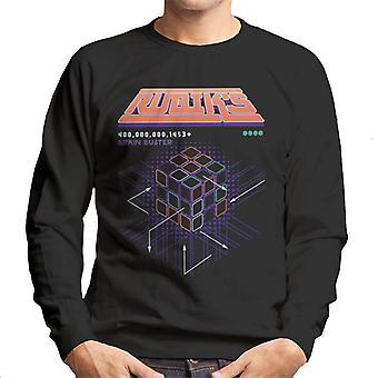 Rubik ' s Brain Buster mannen ' s Sweatshirt