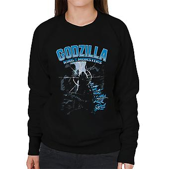 Godzilla King Of The Monsters Elemental Power Women's Sweatshirt