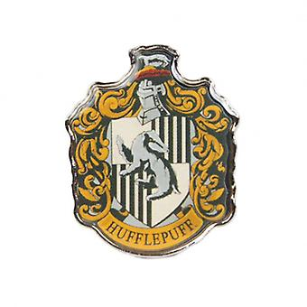 Harry Potter Badge Enamel Hufflepuff House crest new Official
