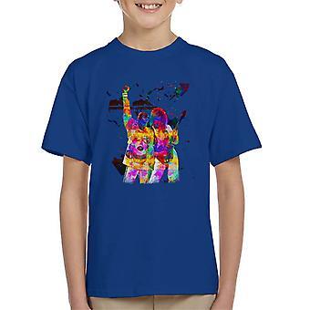 Brian May And Freddie Mercury 1989 Kid's T-Shirt