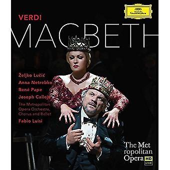 Anna Netrebko - Verdi: Macbeth [Blu-ray] USA import