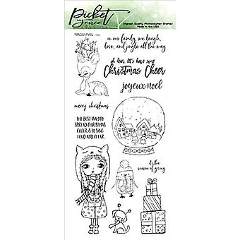 Picket Fence Studios The Season of Giving Clear Stamps