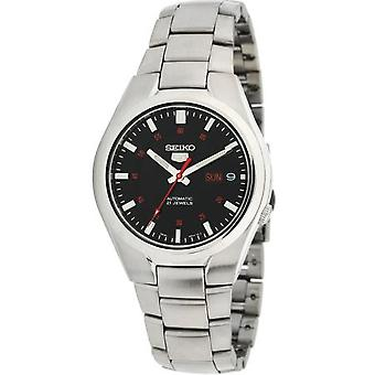 Seiko 5 Men's Automatic Stainless Steel Analog Watch With Day/date - Snk617k1