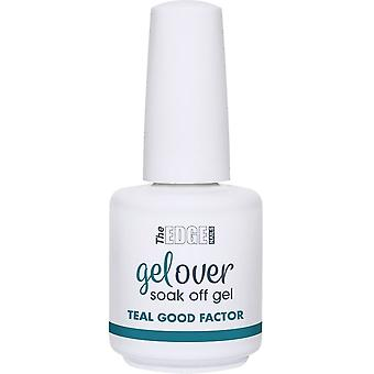 The Edge Nails Gelover 2019 Soak-Off Gel Polish Collection - Teal Good Factor 15ml (2003330)