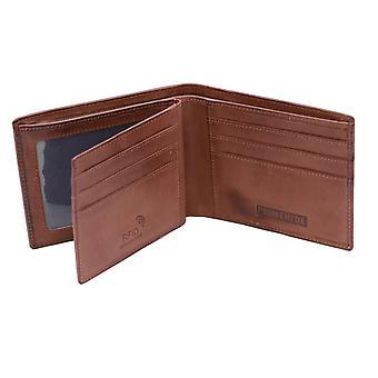 Primehide Mens Leather Card Holder Wallet RFID Blocking Gents Notecase 6405