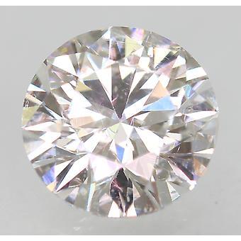 Cert 1.01 カラット D VVS2 ラウンド ブリリアント エンハンスナチュラル ダイヤモンド 6.29mm EX カット