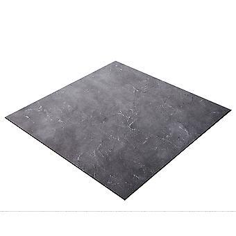 BRESSER Flatlay Hintergrund für Legebilder 40x40cm Betonlook Grau