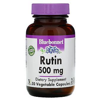 Bluebonnet Nutrition, Rutin, 500 mg, 50 Vegetarian Capsules