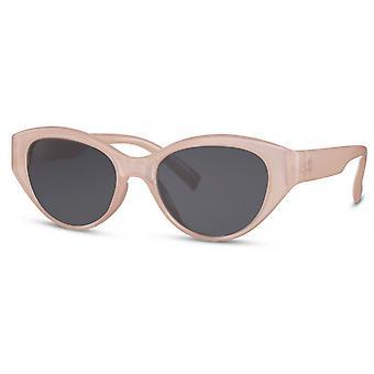 النظارات الشمسية المرأة القط البيضاوي. 3 وردي / أسود