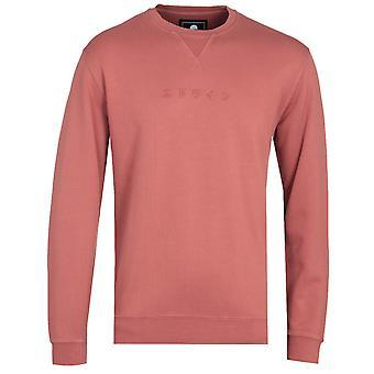 Edwin Auburn Rood Katakana Sweatshirt