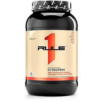 Rule1 R1 Protein naturally flavored Vanilla Crème 2.5 lbs