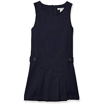 Essentials Girl's Uniform Jumper, Navy Blue, XL(P)