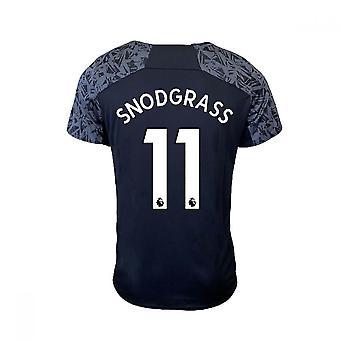 2020-2021 West Ham Training Shirt (Schwarz) (SNODGRASS 11)
