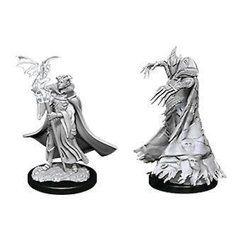 Pathfinder Deep Cuts Unpainted Miniatures Cultist & Devil