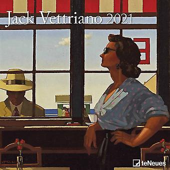 Otter House 2021 Wall Calendar-jack Vettriano