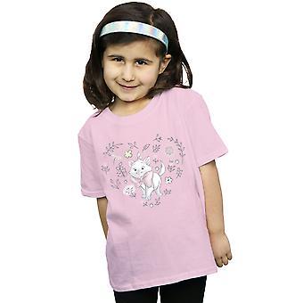 Disney Mädchen die Aristocats Marie Herz T-Shirt