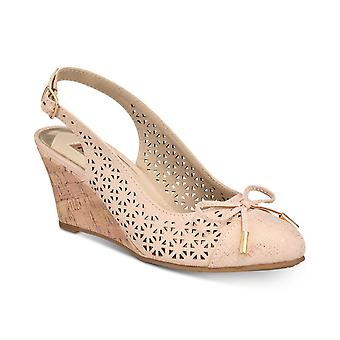 Rialto Womens Casby Almond Toe Casual Platform Sandals