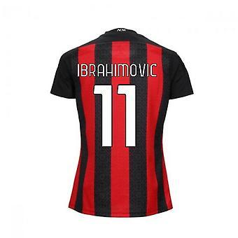 2020-2021 AC Milan Puma Home Naisten paita (IBRAHIMOVIC 11)