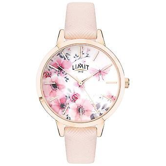 Limit | Women's Secret Garden | Pink&White Floral Dial | Pink Strp 60023 Watch