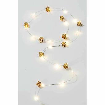 Gouden haren string LED Lights 1M-kerst-feesten festivals