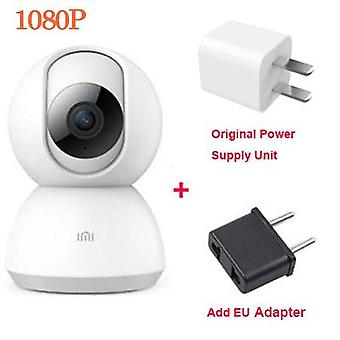 Smart-camera 1080p Hd 360 Degree View, Webcam Ptz Version Infrared Night-vision