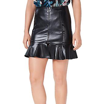 Guess | Caspian Faux-Leather Mini Skirt