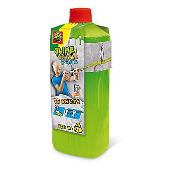 Ses Creative Children's Slime Battle Pack Fluorescent Green Refill Bottle Green