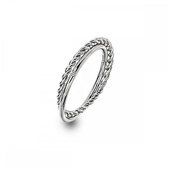 Hot Diamonds Sterling Silver Unity Ring DR210