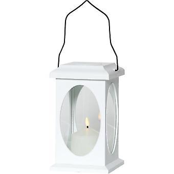 Lyhty Flamme Valkoinen LED