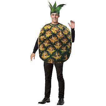 Giant Ananas Get Real Tropical Fructe Alimentare Funny Adult Womens Mens Costum OS