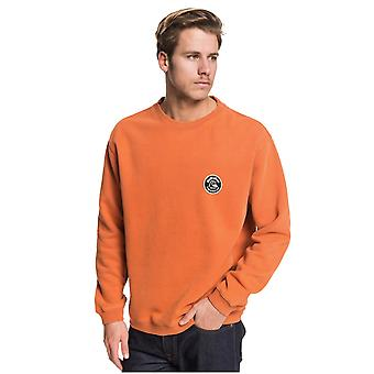 Quiksilver Sweet As Slab Sweatshirt - Burnt Brick