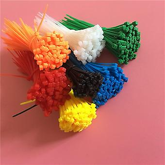 Xingo النفس قفل نايلون بلاستيك كابل ملونة الرمز البريدي التعادل