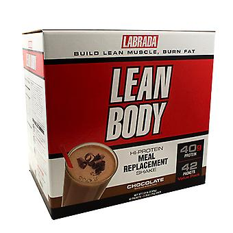 LABRADA NUTRITION Lean Body Powder, Chocolate 42 CT