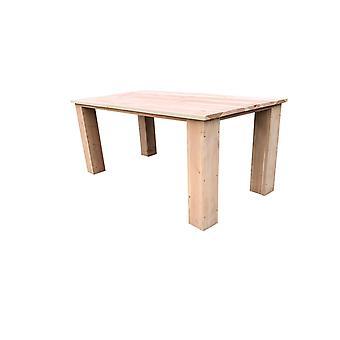 Wood4you - Gartentisch - Texas Gerüstholz 220Lx78Hx90D cm